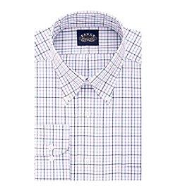Eagle® Men's Big & Tall Plaid Button Down Dress Shirt