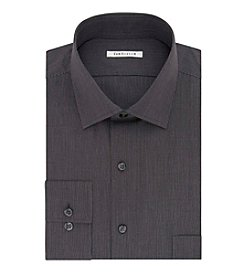 Van Heusen® Men's Big & Tall Striped Spread Collar Button Down Dress Shirt