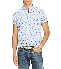 Polo Ralph Lauren® Men's Lobster Print Short Sleeve Button Down Shirt