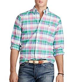Polo Ralph Lauren® Men's Long Sleeve Plaid Button Down Shirt