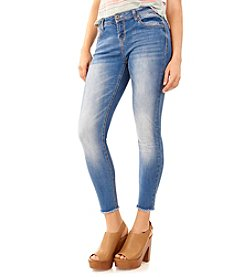Wallflower® Fray Hem Skinny Jeans