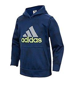 adidas® Boys' 2T-7 Fleece Hoodie