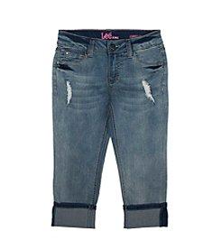 Lee® Girls' 7-16 Sophia Cropped Jeans