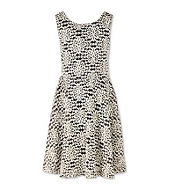 Speechless® Girls' 7-16 Floral Glitter Lace Dress