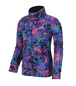 adidas® Girls' 2T-6X Printed Tricot Jacket