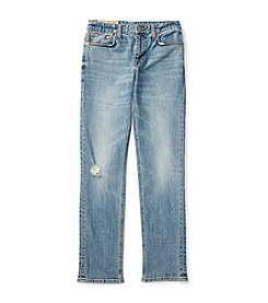 Polo Ralph Lauren® Boys' 8-20 Skinny With Roll Bottoms Denim