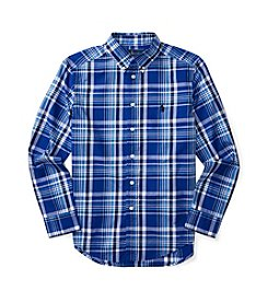 Polo Ralph Lauren® Boys' 8-20 Poplin Plaid Shirt