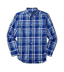 Polo Ralph Lauren® Boys' 8-20 Poplin Plaid Shirt