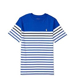 Polo Ralph Lauren® Boys' 8-20 Striped Short Sleeve Top