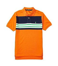 Polo Ralph Lauren® Boys' 8-20 Striped Mesh Shirt