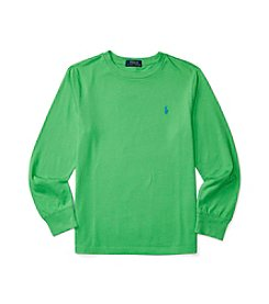 Polo Ralph Lauren® Boys' 8-20 Solid Crew Neck Top
