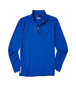 Polo Ralph Lauren® Boys' 8-20 Stretched Half Zip Top