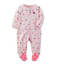 Carter's® Baby Girls' Polka Dot Flamingo Footie