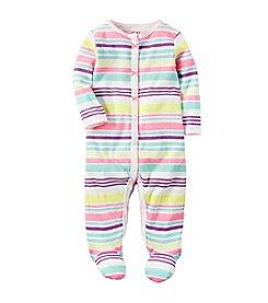 Carter's® Baby Girls' Multi Striped Footie