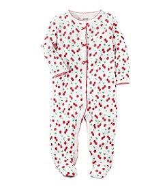 Carter's® Baby Girls' Cherry Printed Footie