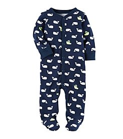Carter's® Baby Boys Whale Printed Footie
