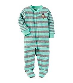 Carter's® Baby Boys Striped Monkey Butt Footie