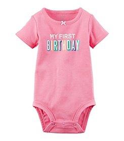 Carter's® Baby Girls' First Birthday Bodysuit