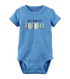 Carter's® Baby Boys' First Birthday Bodysuit