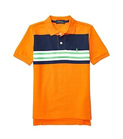 Polo Ralph Lauren® Boys' 2T-7 Short Sleeve Mesh Shirt