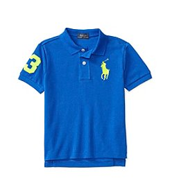 Polo Ralph Lauren® Boys' 2T-7 Big Pony Mesh Tee