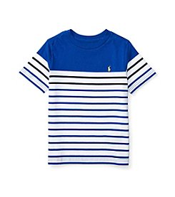 Polo Ralph Lauren® Boys' 2T-7 Striped Short Sleeve Tee
