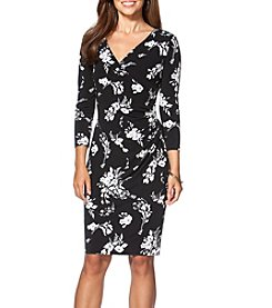Chaps® Fiona Front Wrap Dress