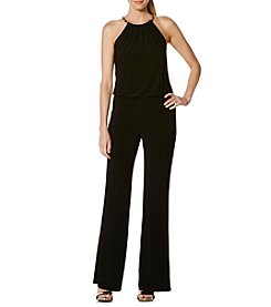 Laundry by Shelli Segal® Chain Neck Blouson Jumpsuit
