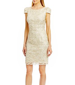 Nicole Miller New York® Sequin Lace Dress