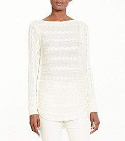 Lauren® Bateau Neckline Sweater