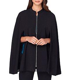 Tahari ASL® Ponte Cape Jacket