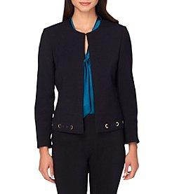 Tahari® Lace Ponte Jacket