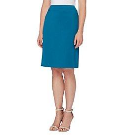 Tahari ASL® Ponte Skirt