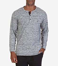 Nautica® Men's Long Sleeve Henley Tee