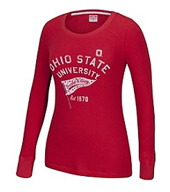J. America® NCAA® Ohio State Buckeyes Women's Thermal Tee