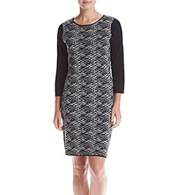 Connected® Layered Sheath Dress