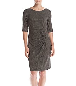 Connected® Ruched Side Sheath Dress
