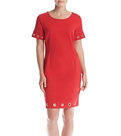 Nina Leonard® Ponte Shift Dress