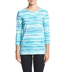 Studio Works® Petites' Printed Pullover Top