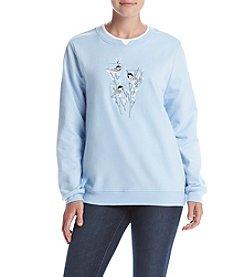 Breckenridge® Willow Chicks Fleece Sweatshirt