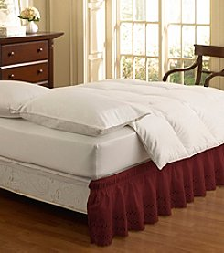 EasyFit™ Wrap Around Eyelet Ruffled Bed Skirt
