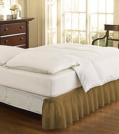 EasyFit™ Wrap Around Solid Ruffled Bed Skirt
