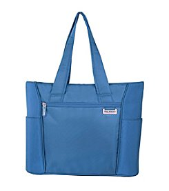 Ricardo Beverly Hills Del Mar Sapphire Expandable Shopper Tote