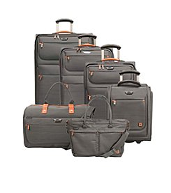 Ricardo Beverly Hills San Marcos Gray Luggage Collection