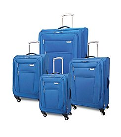 Ricardo Beverly Hills Del Mar Expandable Sapphire Luggage Collection