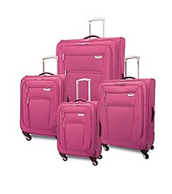 Ricardo Beverly Hills Del Mar Expandable Fuchsia Pink Luggage Collection