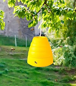 Pure Garden Yellow Beehive Wasp Trap