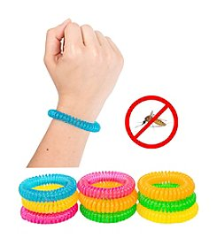 Pure Garden Pack of 10 Mosquito Repellent Bracelets