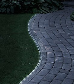 Pure Garden Solar White LED Rope Light