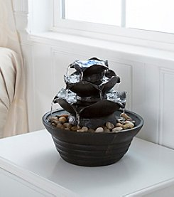 Pure Garden 3-Tier Cascading Tabletop Fountain